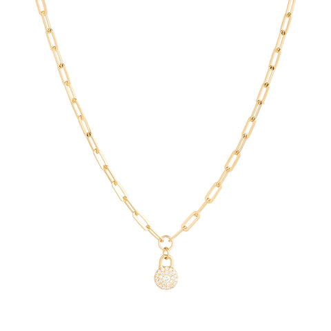 1HOME1 Haven Bond Circle Necklace - RUIFIER