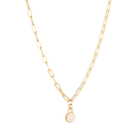 HOME2 Haven Bond Circle Necklace - RUIFIER