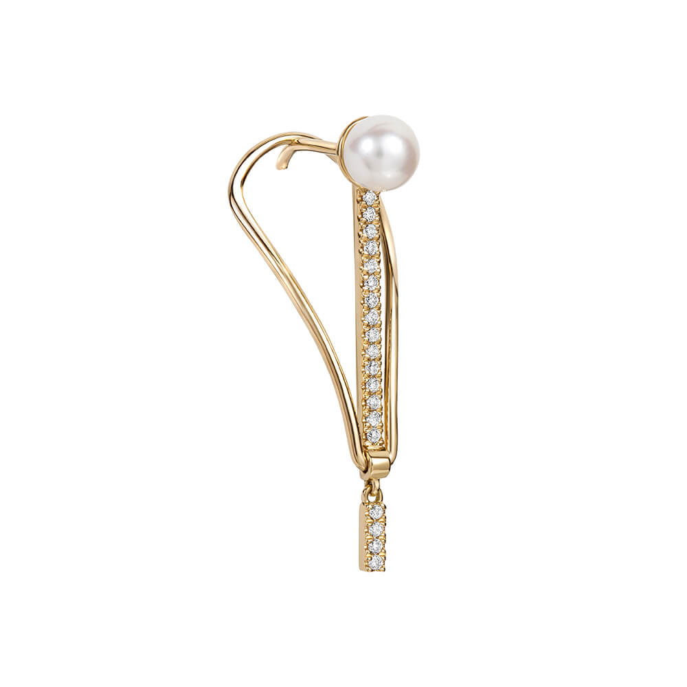 ICON FINE Pearl Spire Earrings