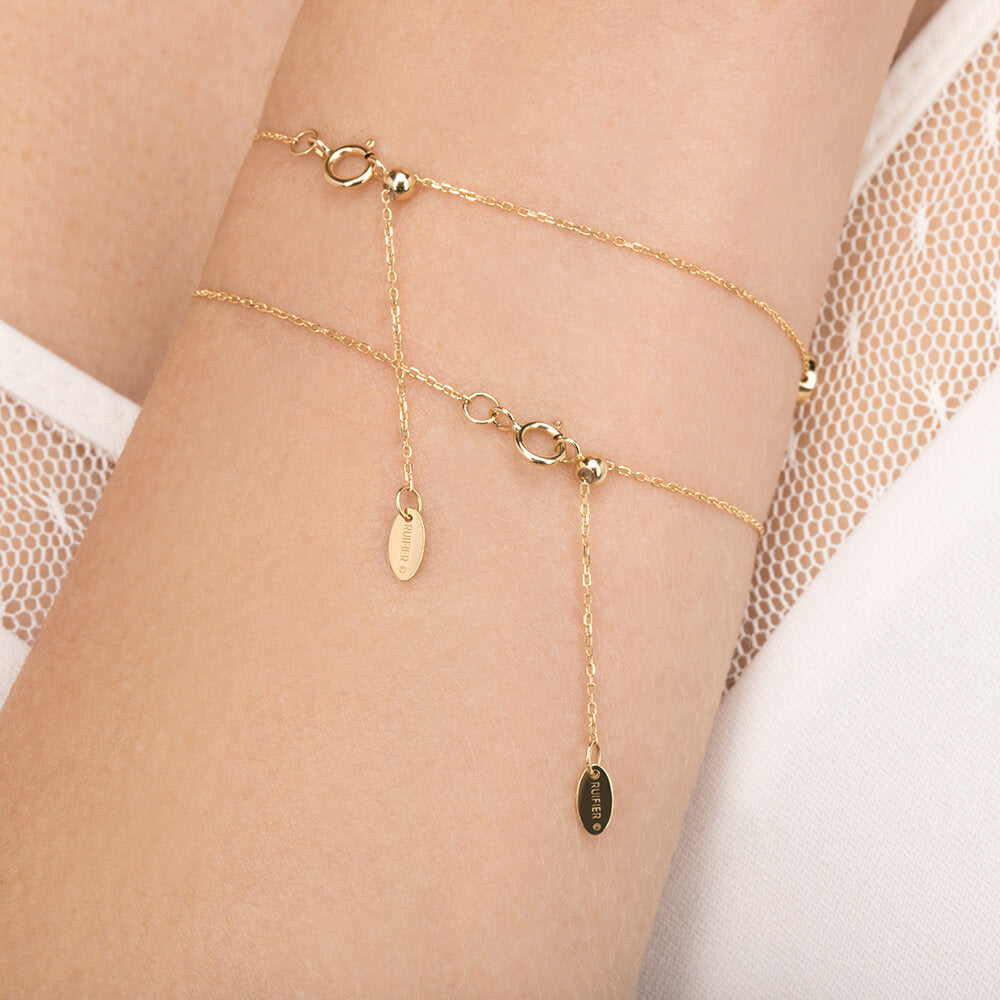 Modern Words Fine Big Love Bracelet