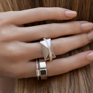 ICON Shard Ring Silver