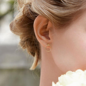 Orbit Fine Infinity Earrings