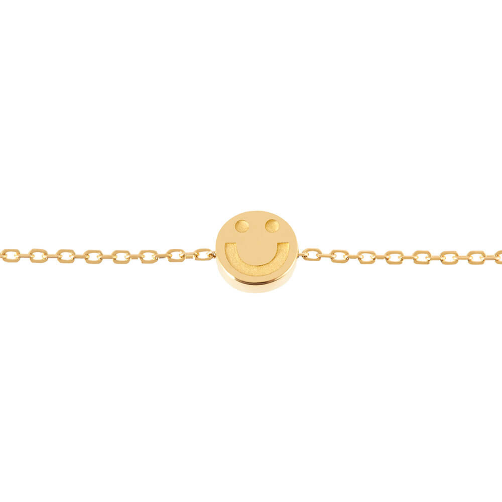 Modern Words Fine Happy Bracelet