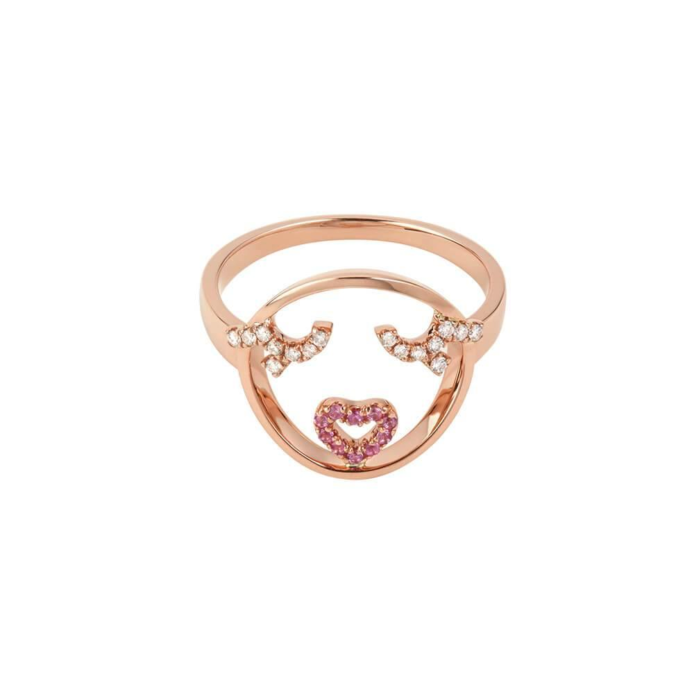 MOYEN Flutter Eyes Ring