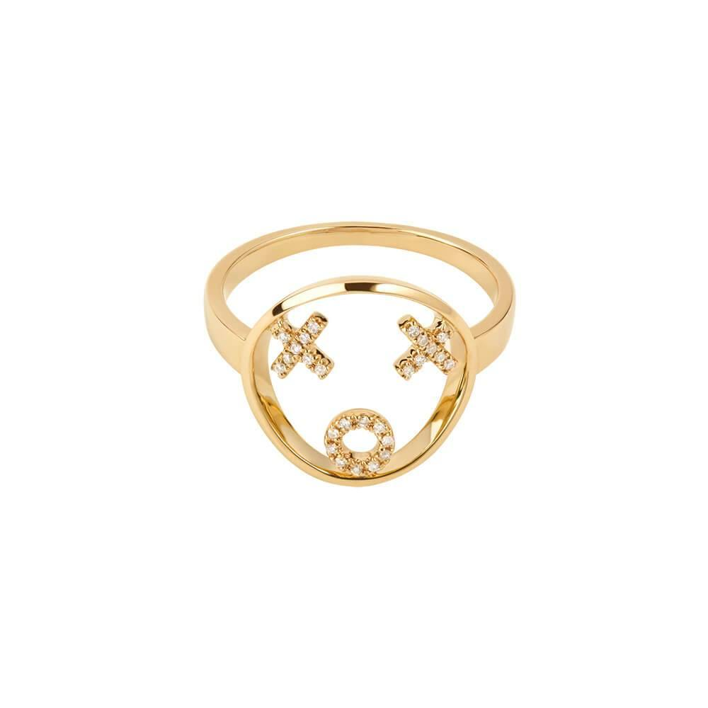 MOYEN XOXO Ring