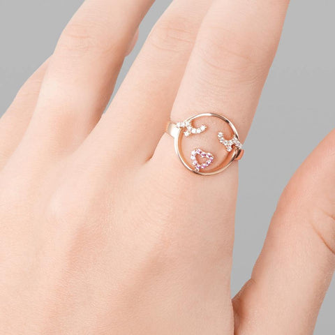 MOYEN Flutter Eyes Ring - RUIFIER