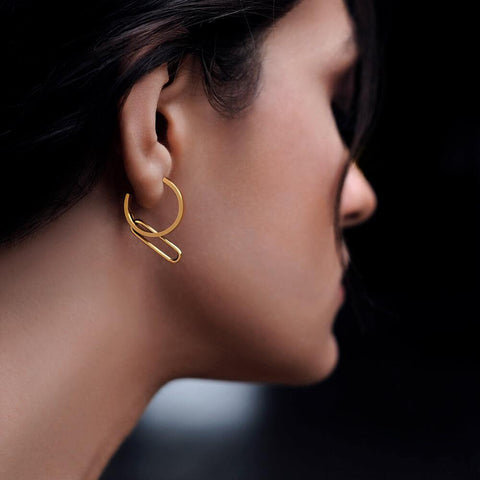 NEXUS Petite Levitate Hoop Earrings