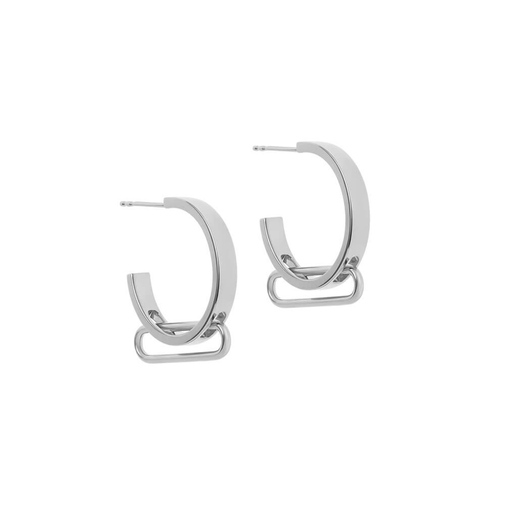 1HOME1 NEXUS Petite Levitate Hoop Earrings - RUIFIER