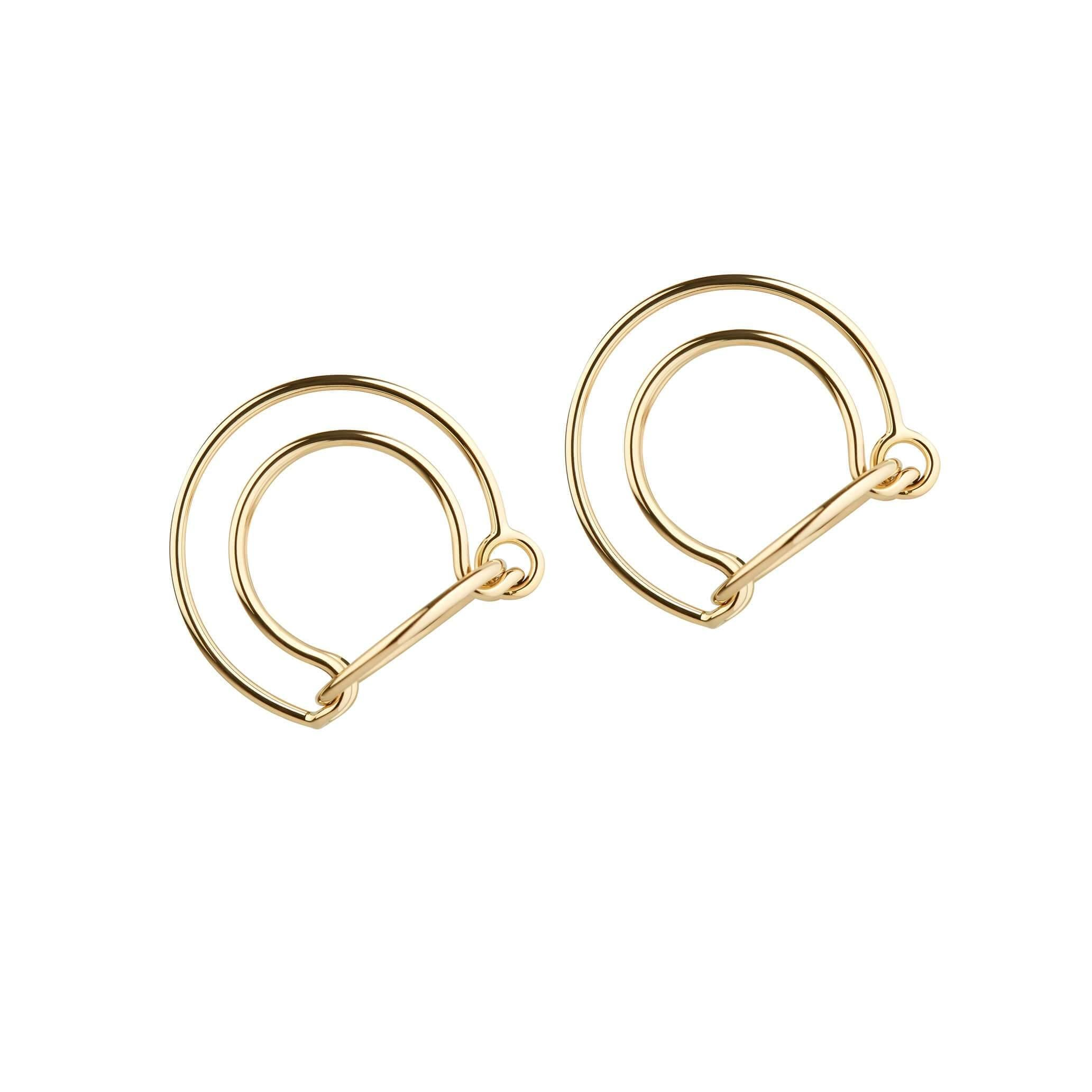 Orbit Fine Comet Earrings