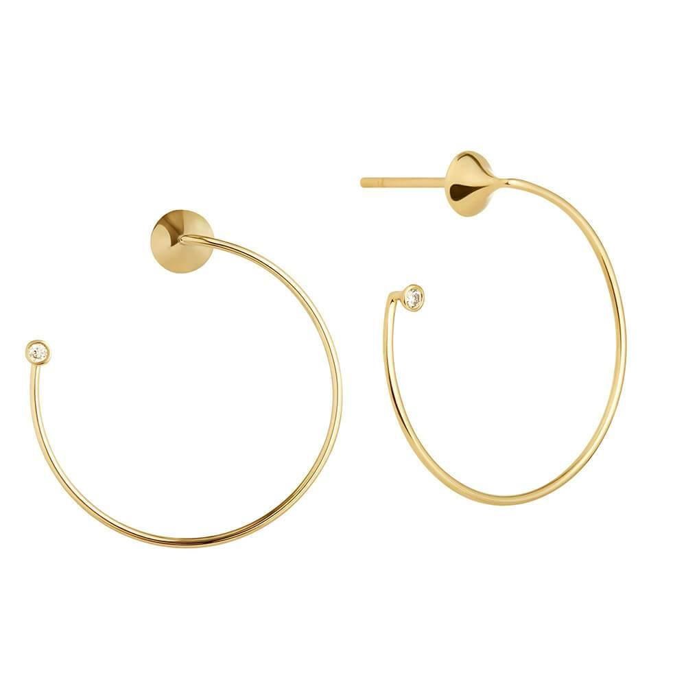 Orbit Fine Eclipse Earrings