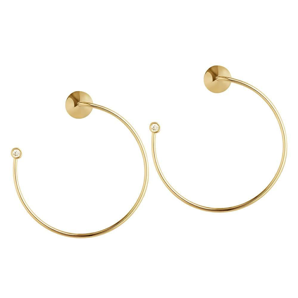Orbit Fine Eclipse Earrings - RUIFIER