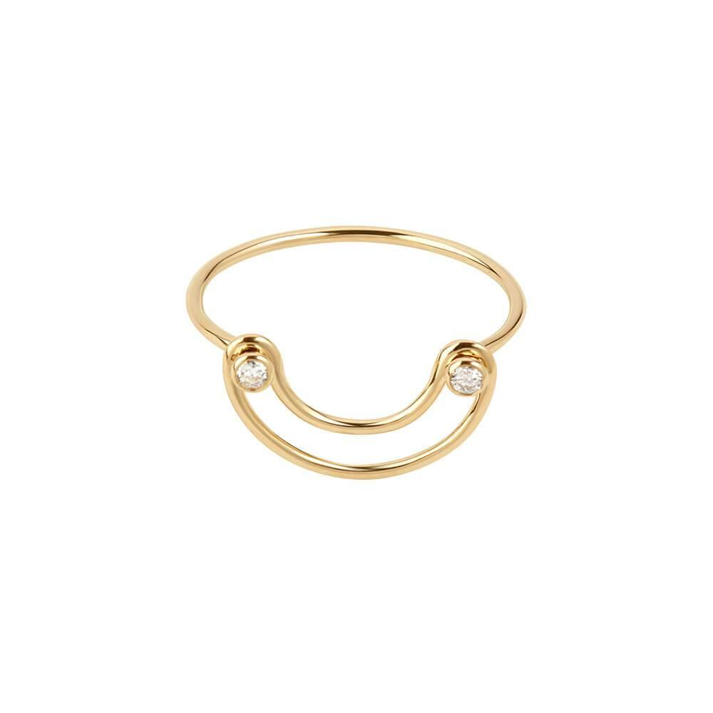 Orbit Fine Ellipse Ring