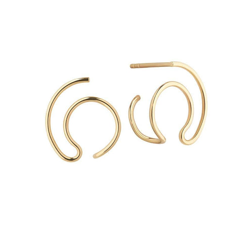 Orbit Fine Solar Earrings