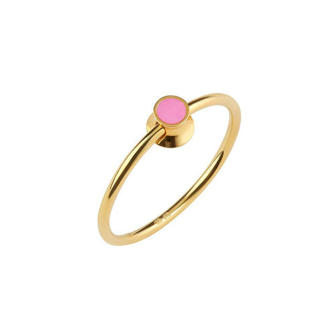 Orbit Infinity Dot Ring