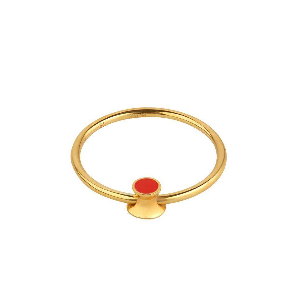 Orbit Infinity Red Dot Ring - RUIFIER