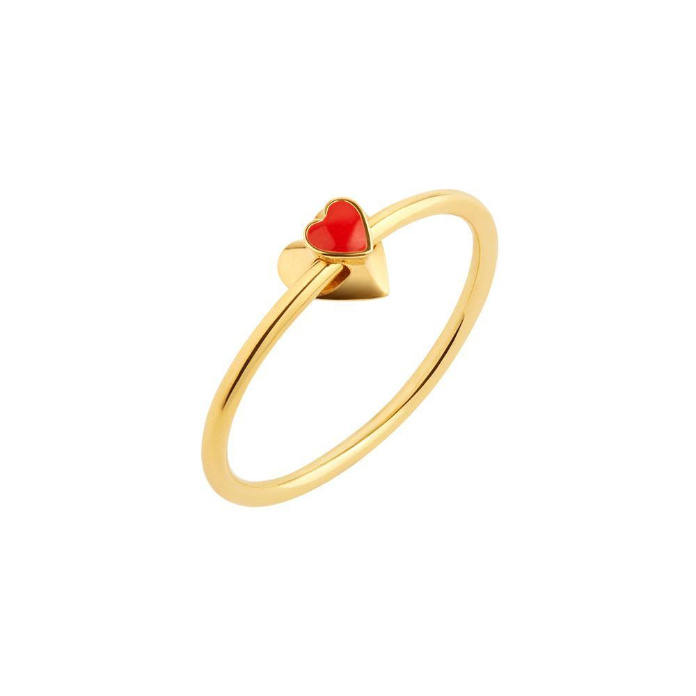 Orbit Infinity Heart Ring