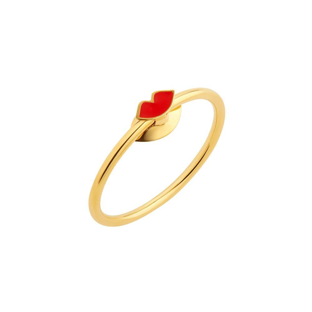 Orbit Infinity Lips Ring - RUIFIER