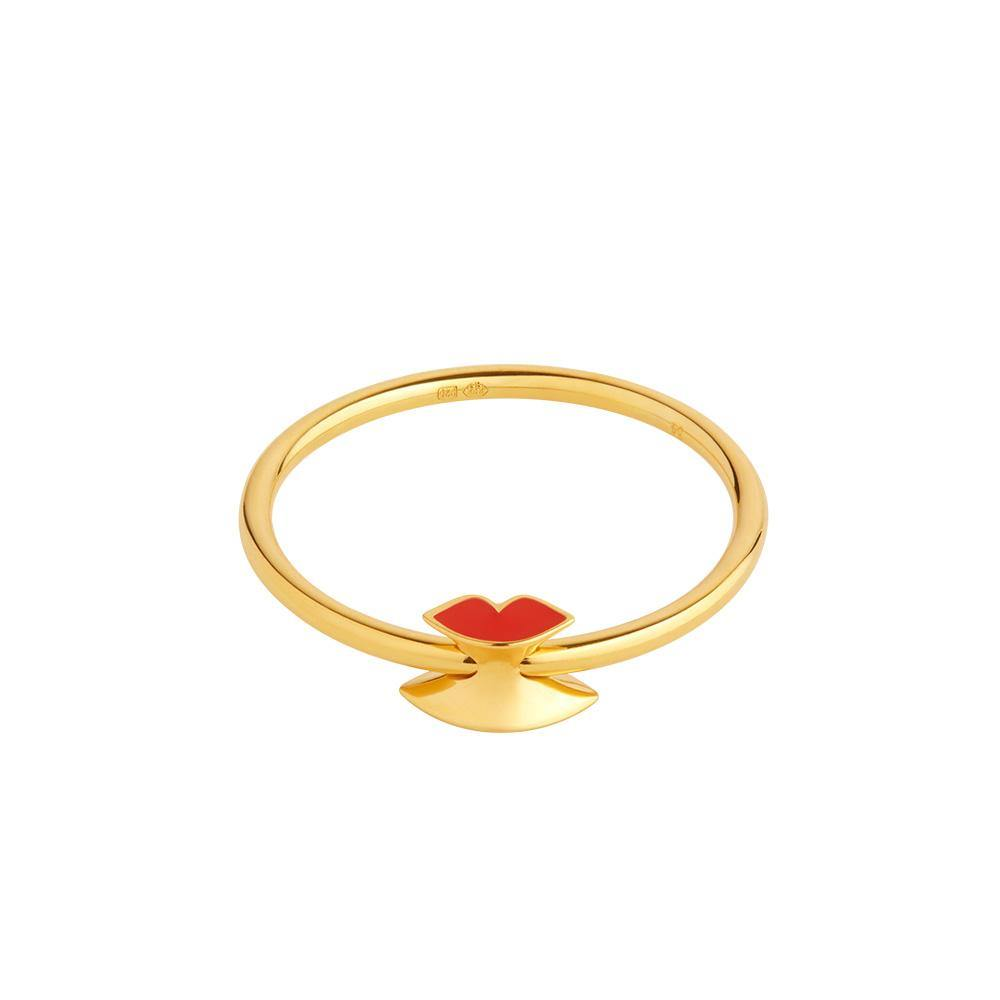 Orbit Infinity Lips Ring