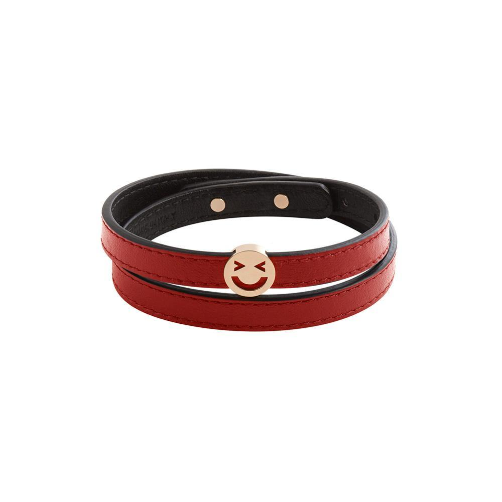 Pick Me Merry Wrap Bracelet/Choker Red