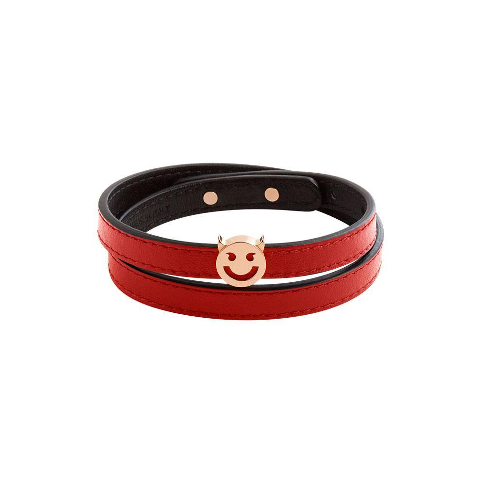 Pick Me Wicked Wrap Bracelet/Choker Red