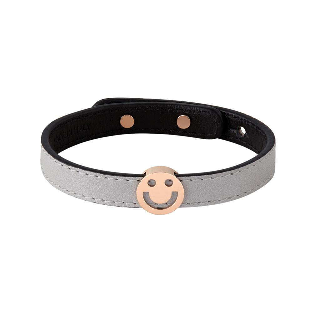 Pick Me Happy Bracelet Light Grey