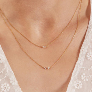 Scintilla Trio Ray Necklace