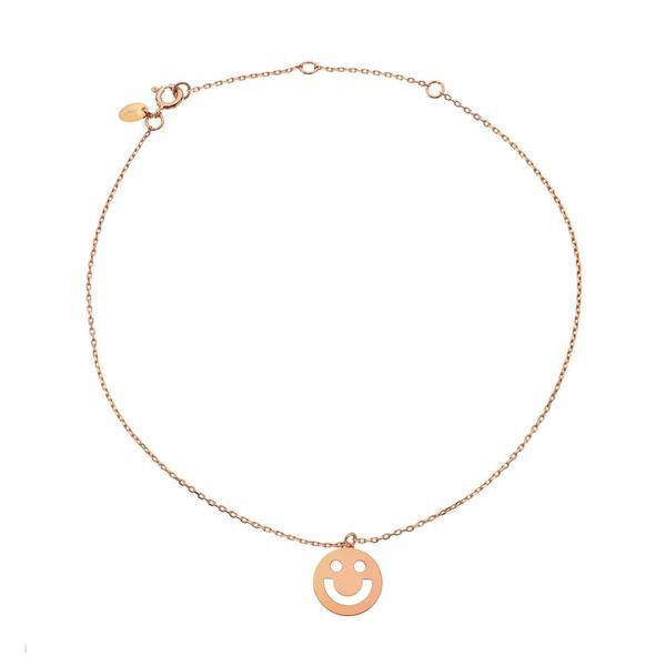 FRIENDS Super Happy Anklet Rose Gold