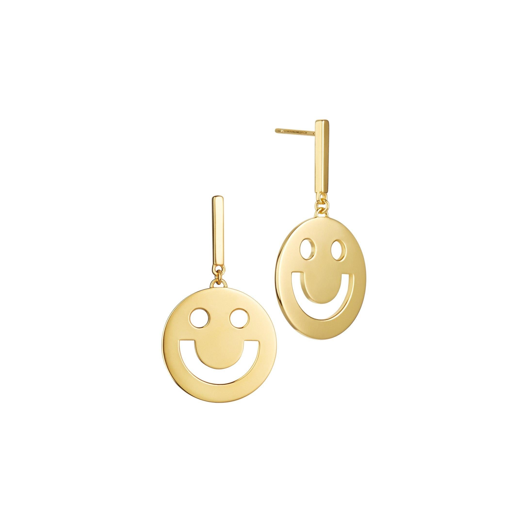 FRIENDS Super Happy Disc Earrings