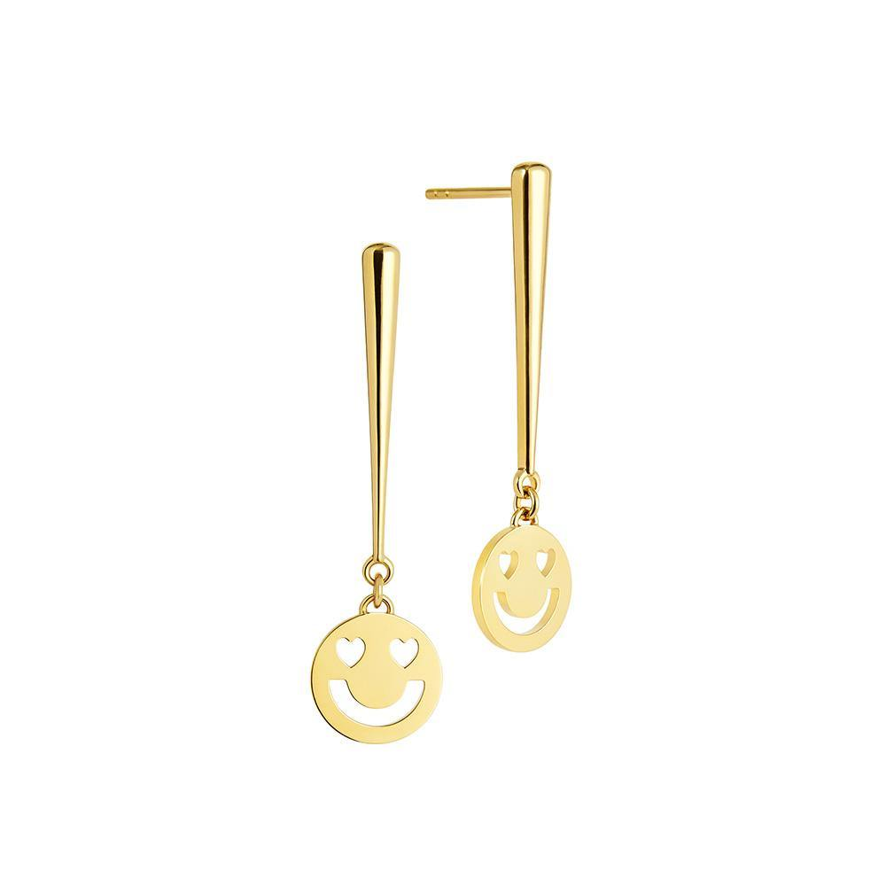 RUIFIER FRIENDS 18ct Yellow Gold Super Smitten Drop Earrings