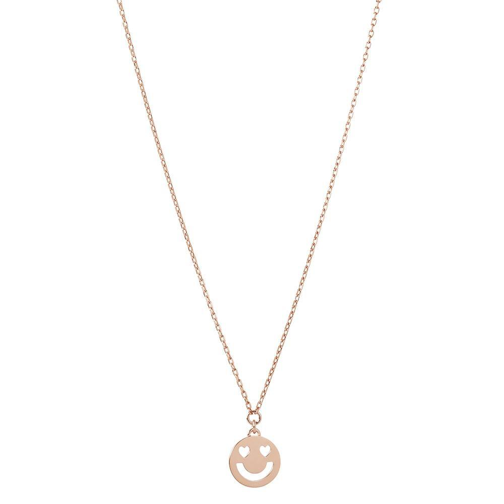 RUIFIER FRIENDS 18ct Rose Gold Super Smitten Mini Pendant
