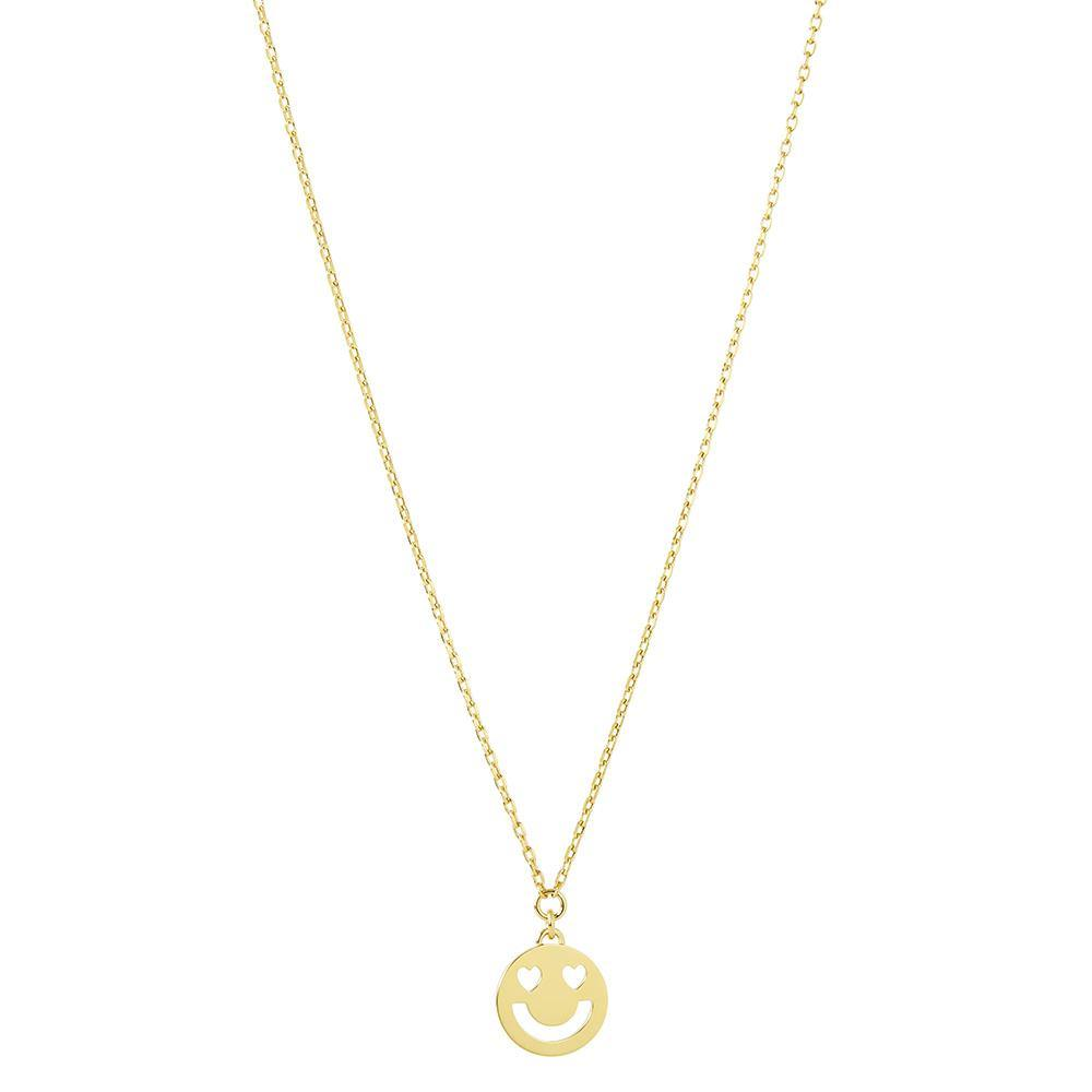 1 RUIFIER FRIENDS 18ct Yellow Gold Super Smitten Mini Pendant
