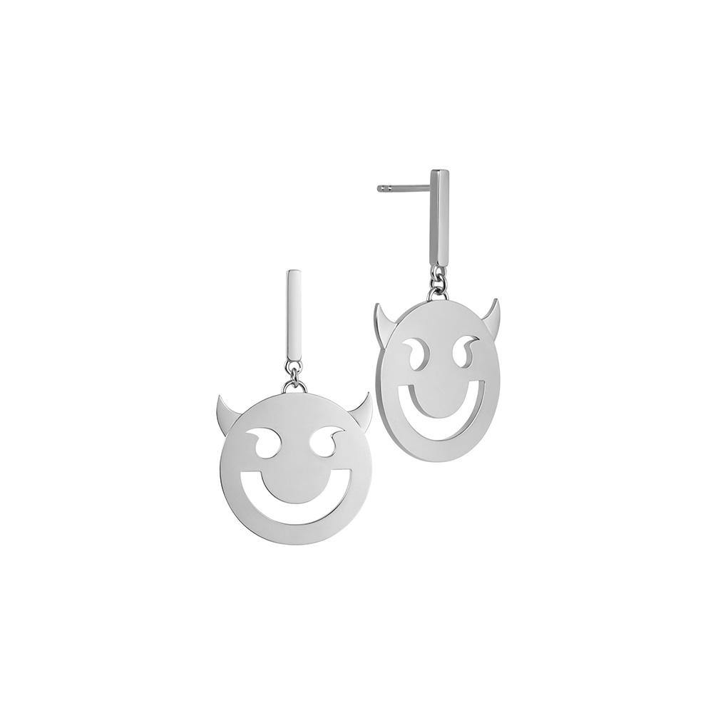 RUIFIER FRIENDS Sterling Silver Super Wicked Disc Earrings