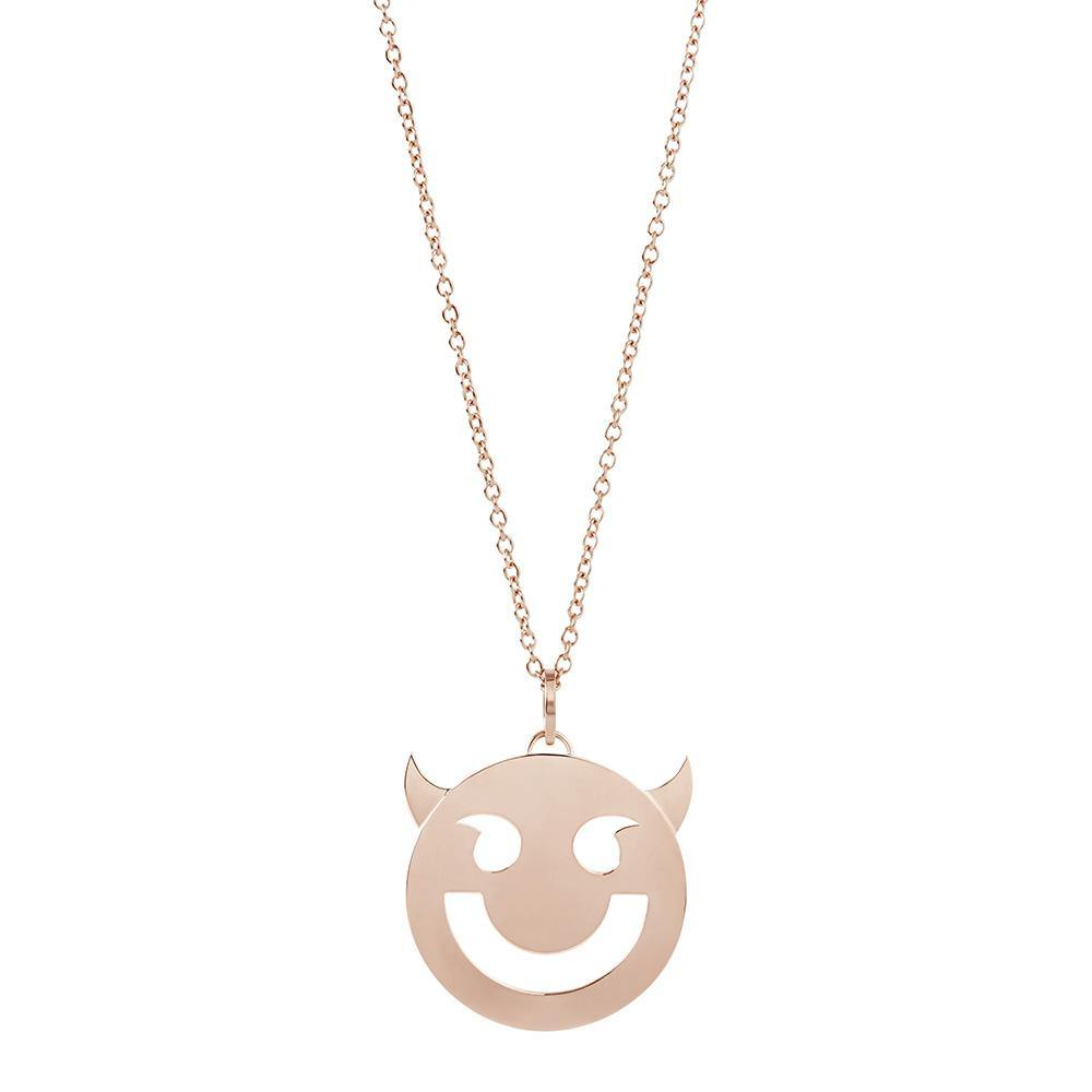 RUIFIER FRIENDS 18ct Rose Gold Super Wicked Pendant