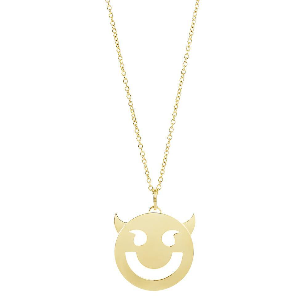 RUIFIER FRIENDS 18ct Yellow Gold Super Wicked Pendant