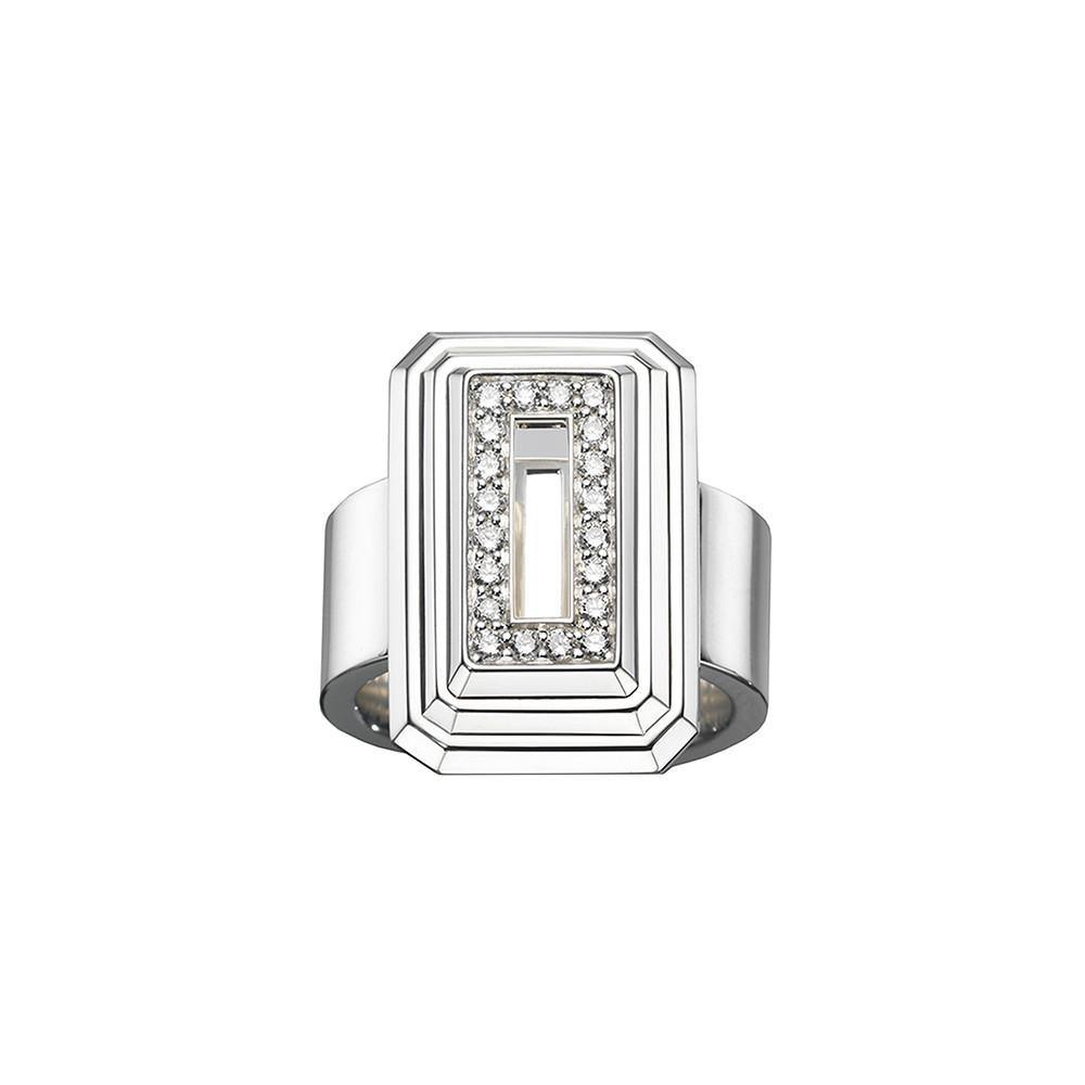 ICON Pyramid Ring Silver - RUIFIER