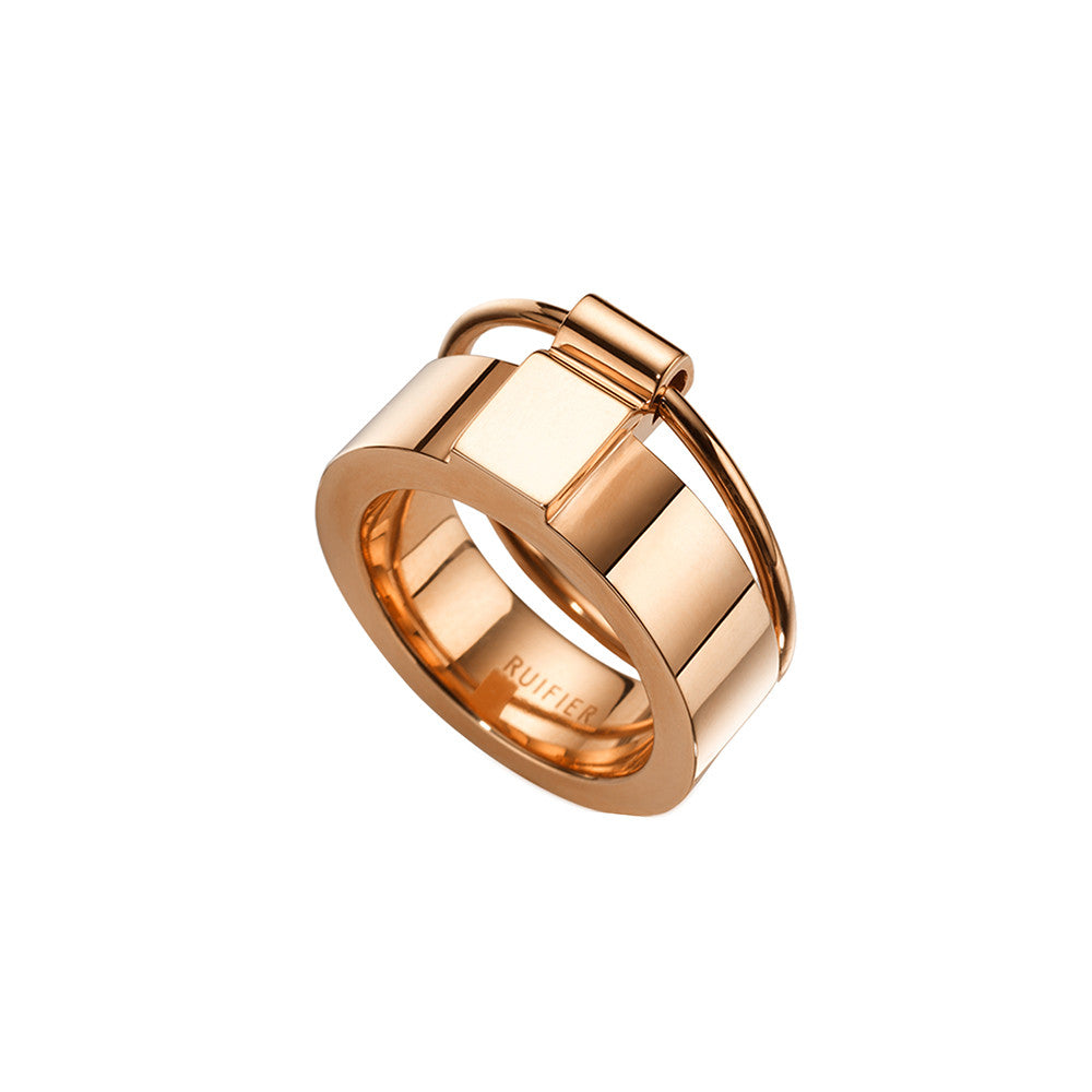The Icon Ring Rose Gold