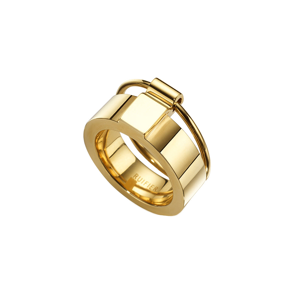 The Icon Ring Yellow Gold