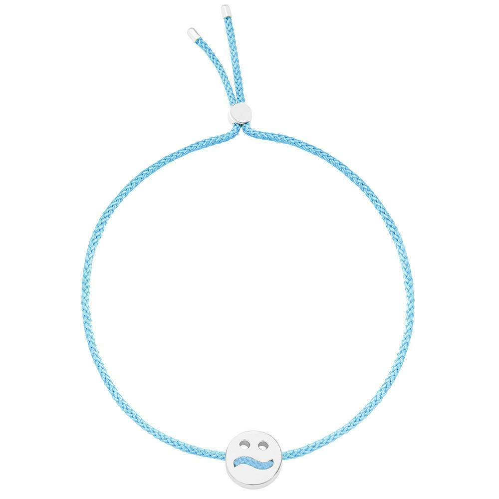 Ruifier Friends Ditzy Cord Bracelet Turquoise Sterling Silver
