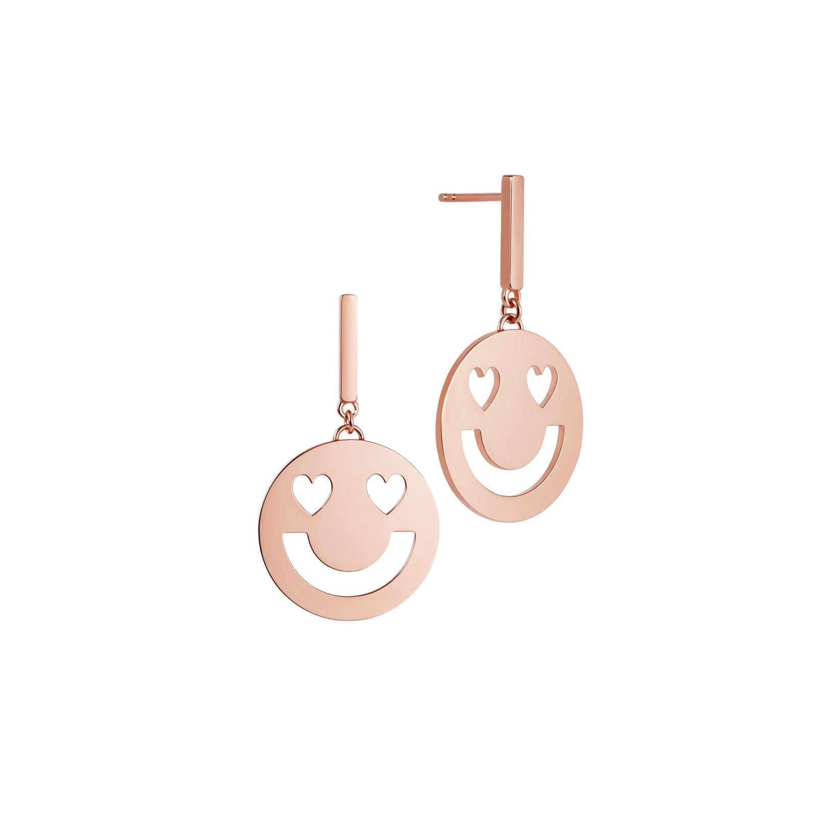 FRIENDS Super Smitten Disc Earrings