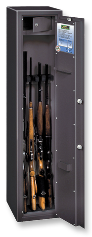 Burg Wachter Ranger W7 A/B E Gun Cabinet Safe. Code Locking. Police Approved.