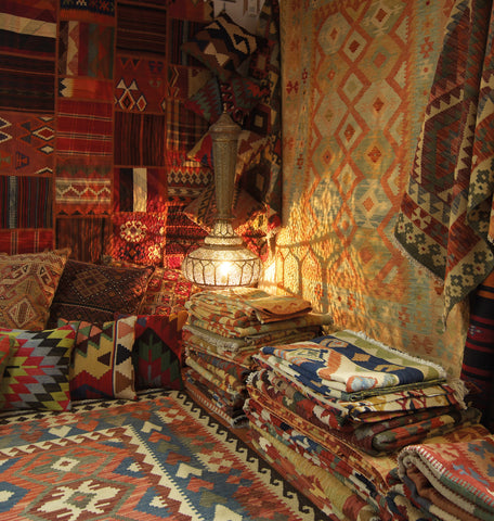 Persian Kelim and Afghan Kilims