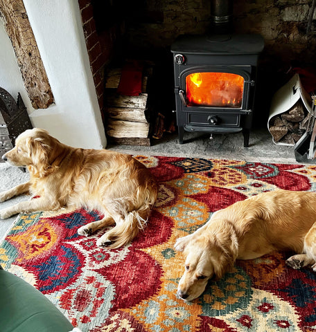 Modern rugs are still hand made