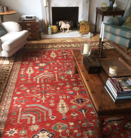 Afghan Kazak Rugs in Assorted Sizes