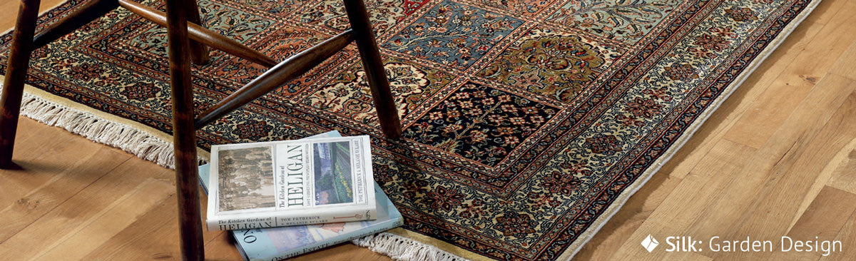 JW Jennings handmade rugs made from wool, cotton, or the finest silk