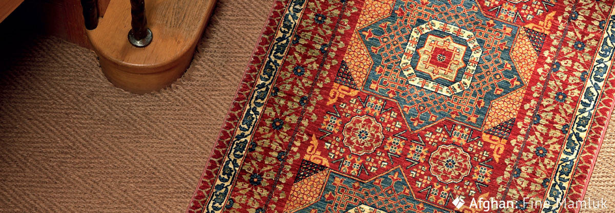 JW Jennings fine Mamluk oriental rug cleaning & protecting using underlay