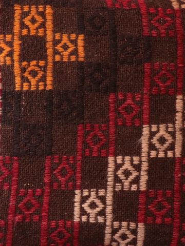 Turkish kilim cushion  made from salvaged old kilim.