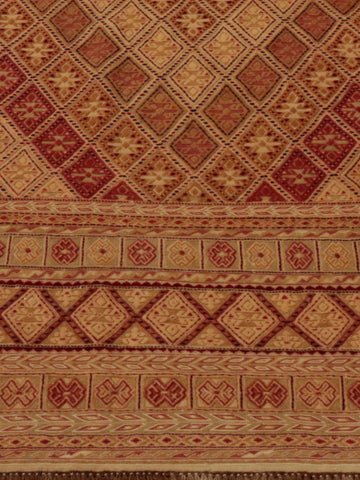The Mushvani is a mix of stitchweave and pile carpet