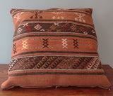 Large Turkish kilim cushion - 241072