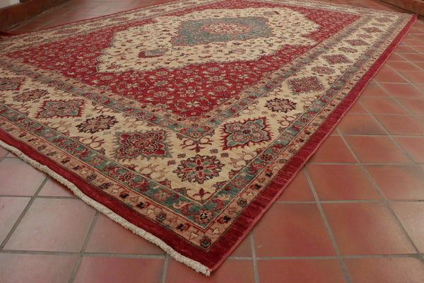 These Afghan Aryana carpets feature rare designs and unusual colours.