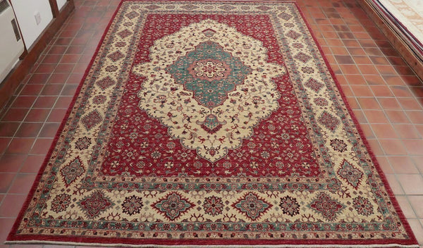 Hand knotted by highly skilled weavers in northern Afghanistan these carpets really stand out.